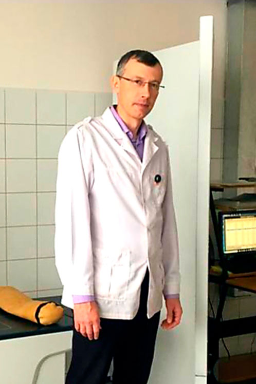 Врач-диагност – рентгенолог Малков Владимир Александрович