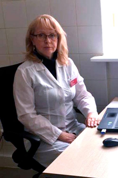 Ревматолог - врач высшей категории Савельева Лариса Валерьевна